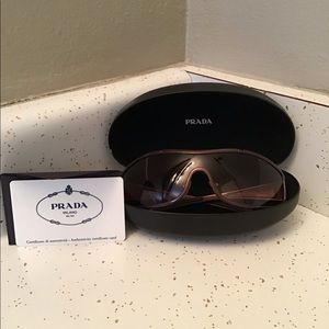 Vintage Prada Shield Sunglasses